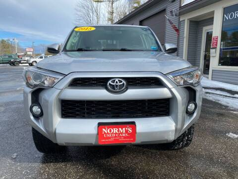 2015 Toyota 4Runner for sale at NORM'S USED CARS INC - Trucks By Norm's in Wiscasset ME