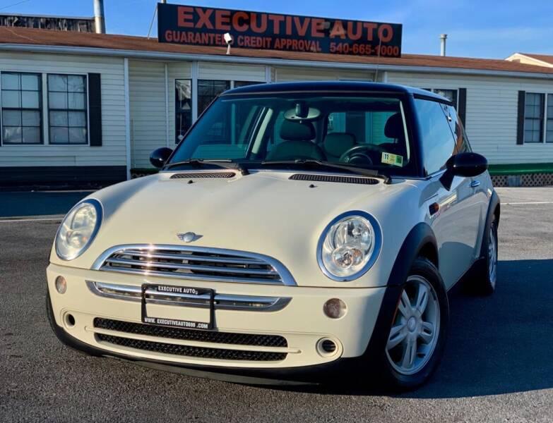2006 MINI Cooper for sale at Executive Auto in Winchester VA