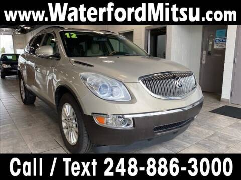 2012 Buick Enclave for sale at Lasco of Waterford in Waterford MI