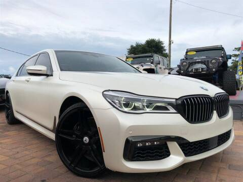 2016 BMW 7 Series for sale at Cars of Tampa in Tampa FL