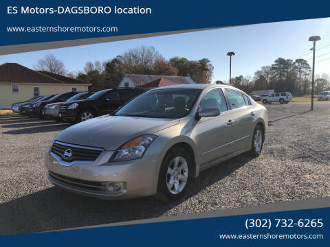 2009 Nissan Altima for sale at ES Motors-DAGSBORO location in Dagsboro DE