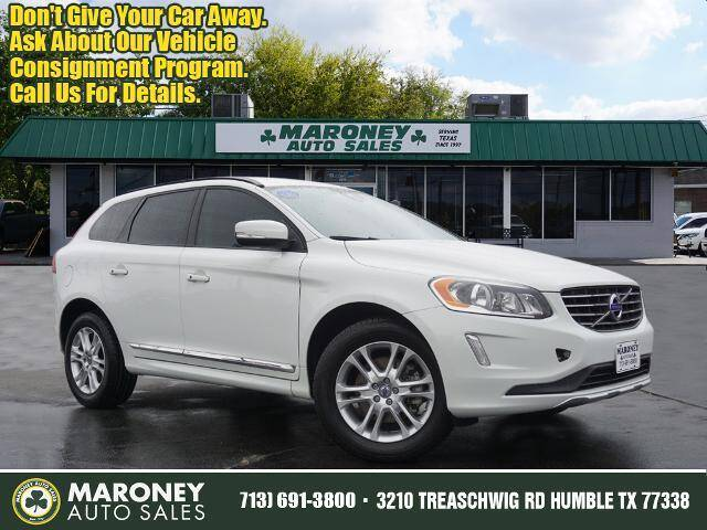 2015 Volvo XC60 for sale at Maroney Auto Sales in Humble TX