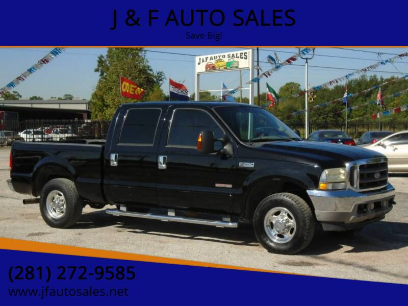 2003 Ford F-250 Super Duty for sale at J & F AUTO SALES in Houston TX