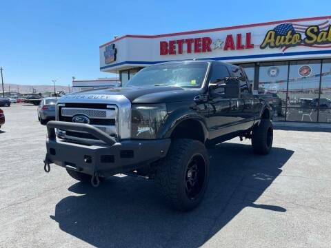 2013 Ford F-350 Super Duty for sale at Better All Auto Sales in Yakima WA