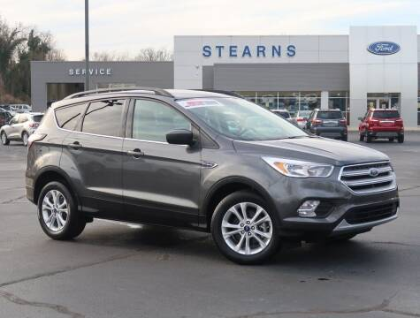 2018 Ford Escape for sale at Stearns Ford in Burlington NC