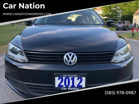 2012 Volkswagen Jetta for sale at Car Nation in Webster NY