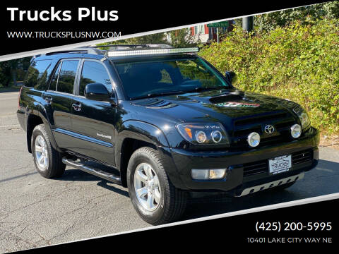 2005 Toyota 4Runner for sale at Trucks Plus in Seattle WA