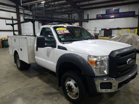 2011 Ford F-450 Super Duty for sale at Hometown Automotive Service & Sales in Holliston MA