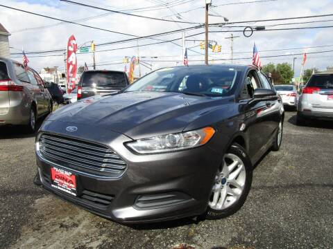 2016 Ford Fusion for sale at 500 Down Buy Here Pay Here in Paterson NJ