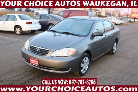 2006 Toyota Corolla for sale at Your Choice Autos - Waukegan in Waukegan IL