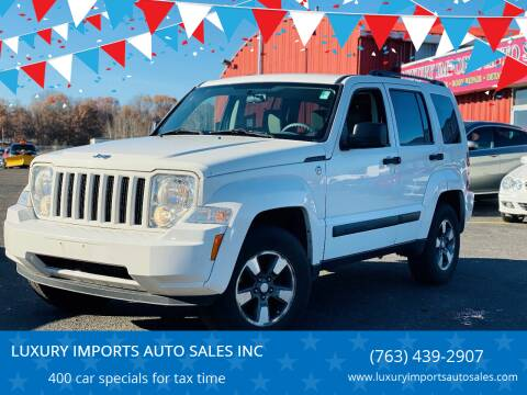 2008 Jeep Liberty for sale at LUXURY IMPORTS AUTO SALES INC in North Branch MN