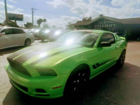 2014 Ford Mustang for sale at Celebrity Auto Sales in Port Saint Lucie FL