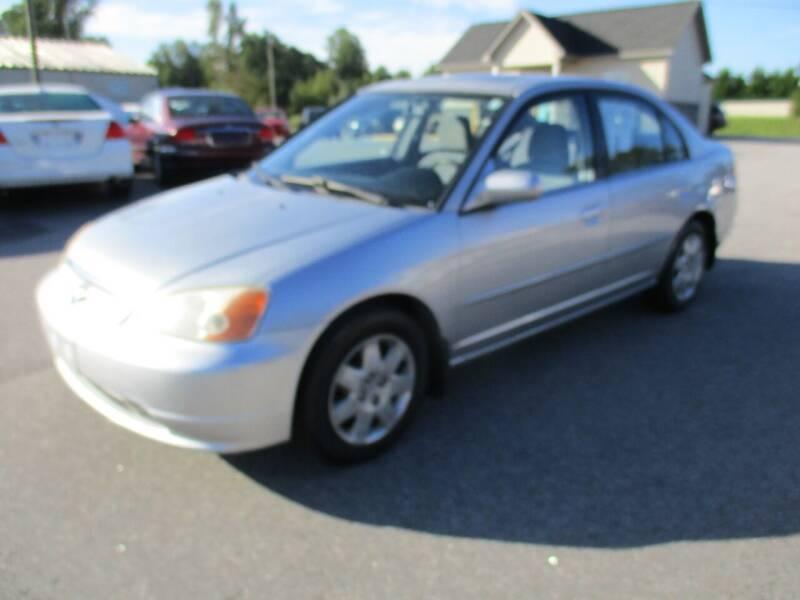 2001 Honda Civic for sale at Creech Auto Sales in Garner NC