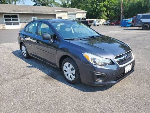 2014 Subaru Impreza for sale at AFFORDABLE IMPORTS in New Hampton NY