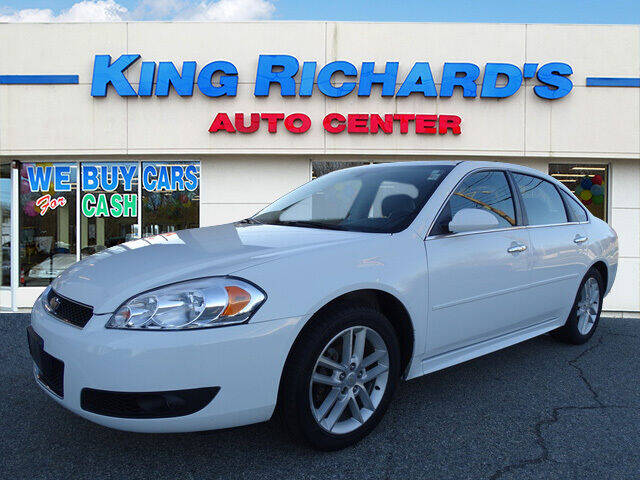 2014 Chevrolet Impala Limited for sale at KING RICHARDS AUTO CENTER in East Providence RI