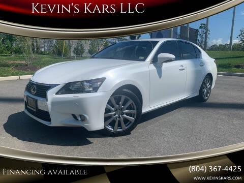 2013 Lexus GS 350 for sale at Kevin's Kars LLC in Richmond VA