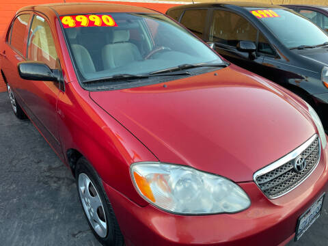 2008 Toyota Corolla for sale at CARZ in San Diego CA