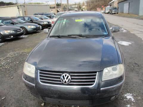 2002 Volkswagen Passat for sale at FERNWOOD AUTO SALES in Nicholson PA