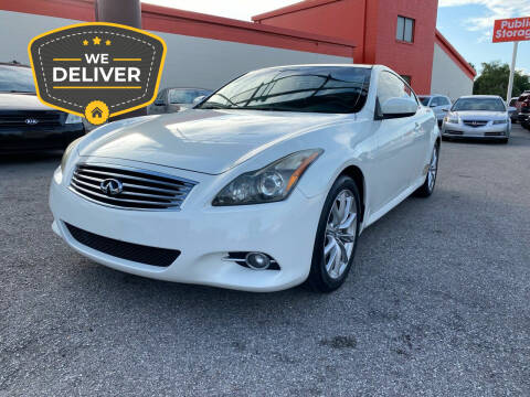 2012 Infiniti G37 Coupe for sale at JC AUTO MARKET in Winter Park FL