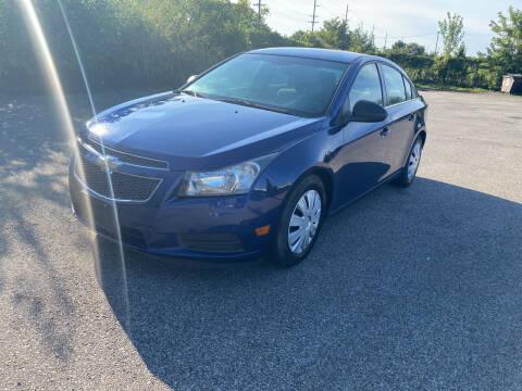 2012 Chevrolet Cruze for sale at Mr. Auto in Hamilton OH