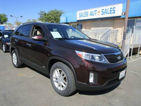 2014 Kia Sorento for sale at Salem Auto Sales in Sacramento CA