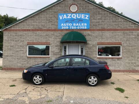 2007 Saturn Ion for sale at VAZQUEZ AUTO SALES in Bloomington IL