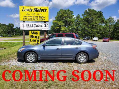 2010 Nissan Altima for sale at Lewis Motors LLC in Deridder LA