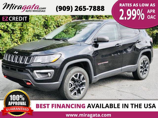 2020 Jeep Compass for sale at Miragata Auto in Bloomington CA