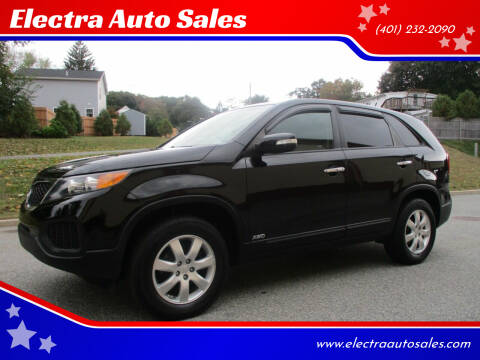 2011 Kia Sorento for sale at Electra Auto Sales in Johnston RI