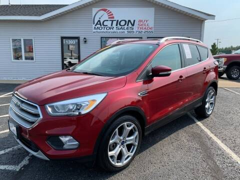 2017 Ford Escape for sale at Action Motor Sales in Gaylord MI