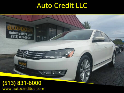 2013 Volkswagen Passat for sale at Auto Credit LLC in Milford OH