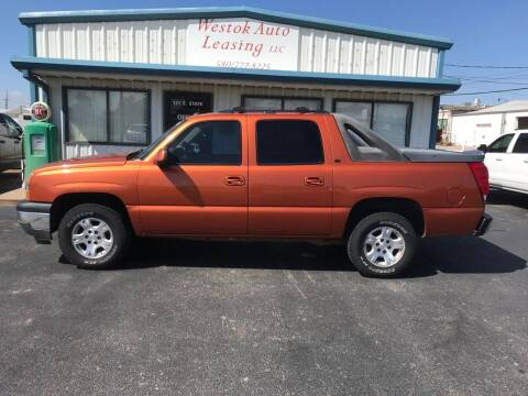 2005 Chevrolet Avalanche for sale at Westok Auto Leasing in Weatherford OK
