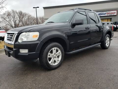 2007 Ford Explorer Sport Trac for sale at ALL AMERICAN AUTO MART in Edwardsville KS