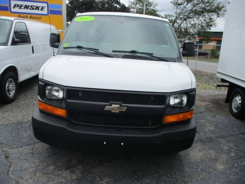 2017 Chevrolet Express Cargo for sale at AUTO FACTORY INC in East Providence RI