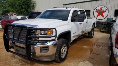 2016 GMC Sierra 2500HD for sale at KK Motors Inc in Graham TX