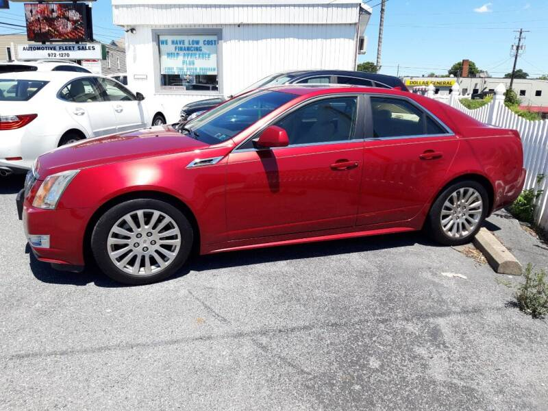 2012 Cadillac CTS for sale at Automotive Fleet Sales in Lemoyne PA