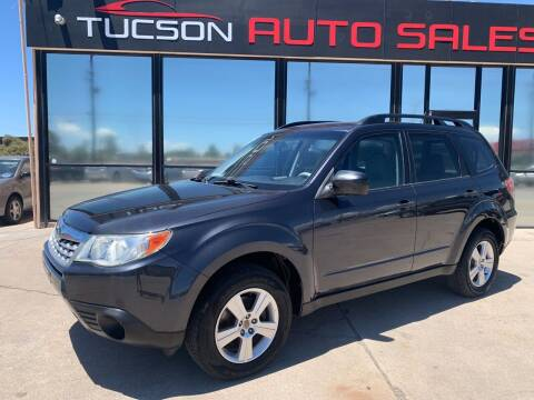 2011 Subaru Forester for sale at Tucson Auto Sales in Tucson AZ