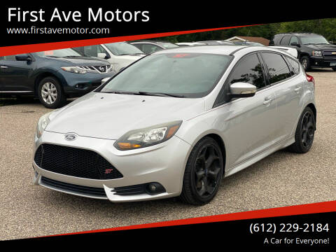 2014 Ford Focus for sale at First Ave Motors in Shakopee MN
