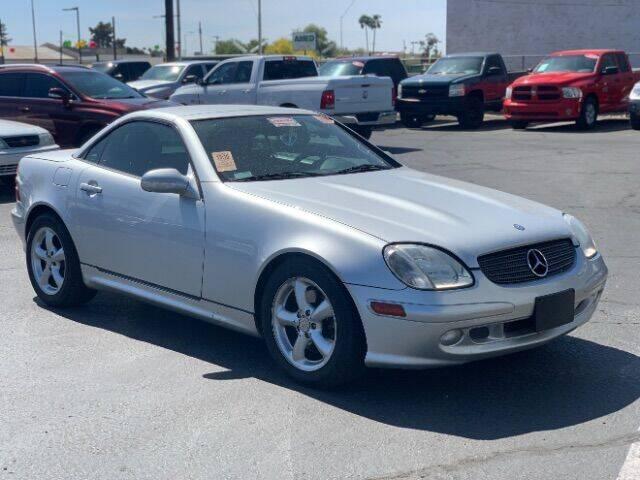 2001 Mercedes-Benz SLK for sale at Brown & Brown Auto Center in Mesa AZ
