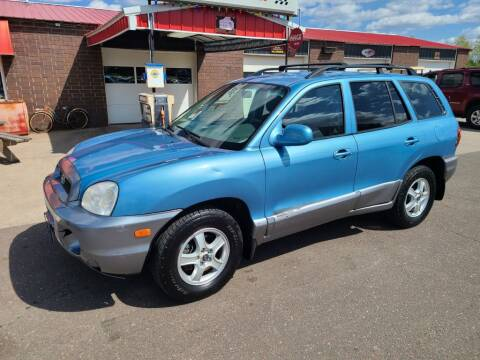 2003 Hyundai Santa Fe for sale at Rum River Auto Sales in Cambridge MN