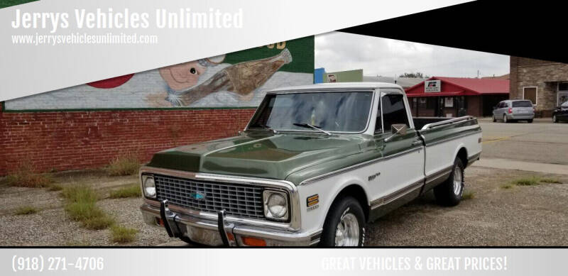 1971 Chev C 10 for sale at Jerrys Vehicles Unlimited in Okemah OK
