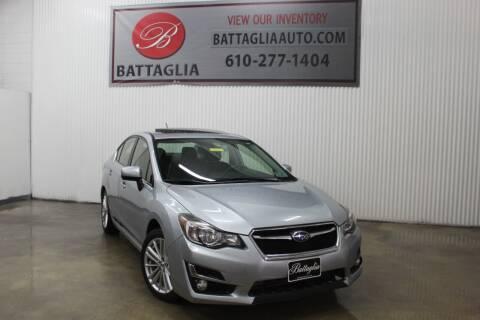 2015 Subaru Impreza for sale at Battaglia Auto Sales in Plymouth Meeting PA