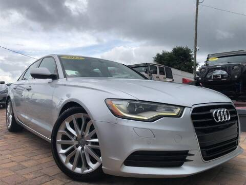 2013 Audi A6 for sale at Cars of Tampa in Tampa FL
