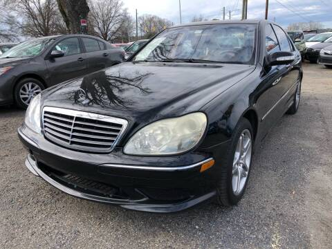 2006 Mercedes-Benz S-Class for sale at Atlantic Auto Sales in Garner NC