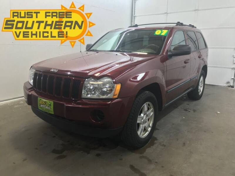 2007 Jeep Grand Cherokee for sale at Frogs Auto Sales in Clinton IA