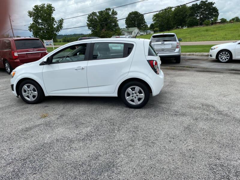 2013 Chevrolet Sonic for sale at K & P Used Cars, Inc. in Philadelphia TN