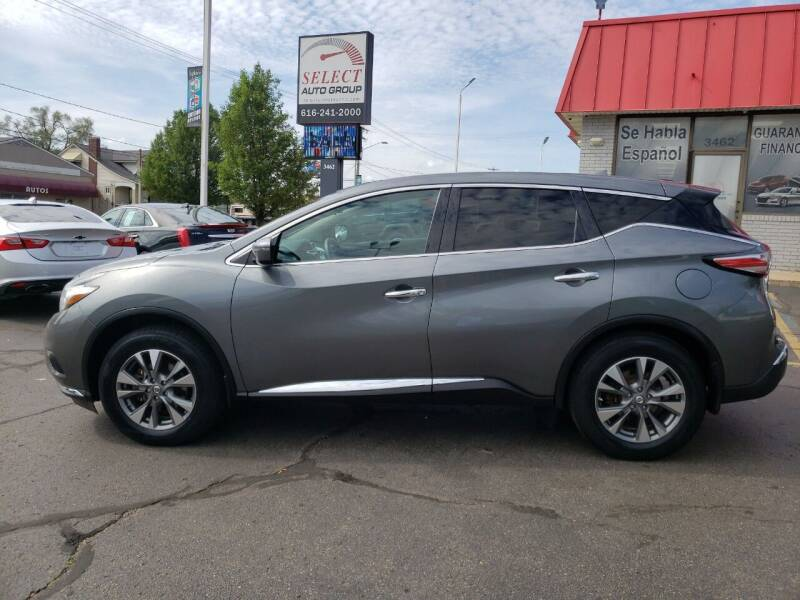 2015 Nissan Murano for sale at Select Auto Group in Wyoming MI