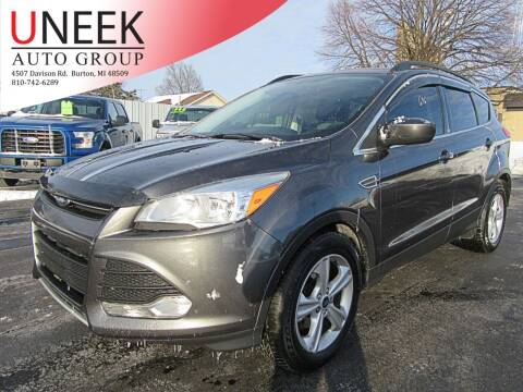 2015 Ford Escape for sale at Uneek Auto Group LLC in Burton MI