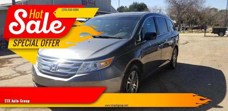 2011 Honda Odyssey for sale at STX Auto Group in San Antonio TX