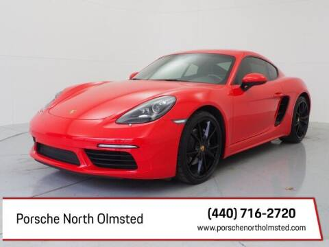 2018 Porsche 718 Cayman for sale at Porsche North Olmsted in North Olmsted OH